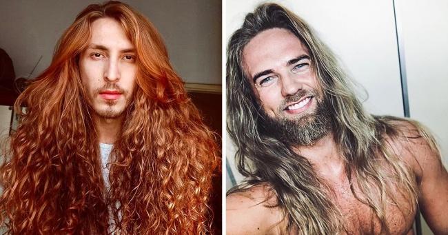 20+ доказів того, що довге волосся роблять чоловіків біса привабливими