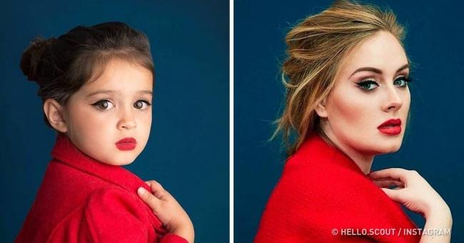 Зворушливий проект 3-річної дівчинки, яка косплеит сильних духом жінок. І робить вона це не просто так