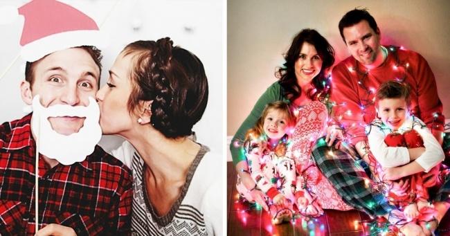 15 оригінальних ідей для новорічної сімейної фотосесії