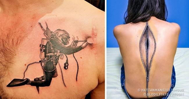 Татуювання перетворюють шрами у твори мистецтва, які більше не хочеться приховувати