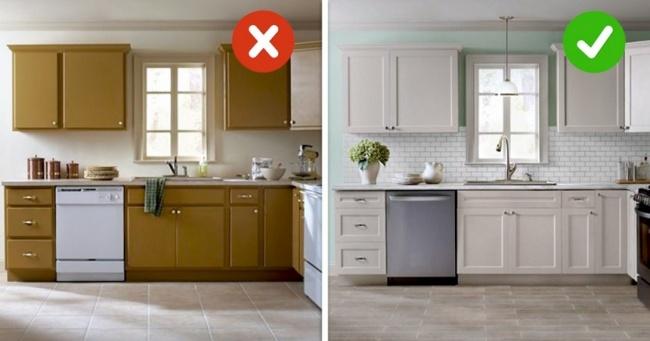 11 способів оновити кухню, не витративши ні копійки на нову меблі